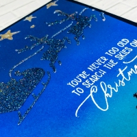 WOW! Embossing Changers with Christmas Stencils