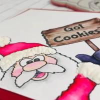 Got Cookies Santa