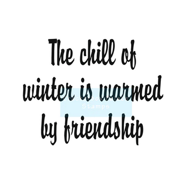 Crackerbox & Suzy Stamps - Chill of Winter