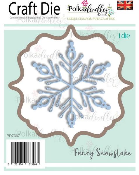 Polkadoodles - Fancy Snowflake