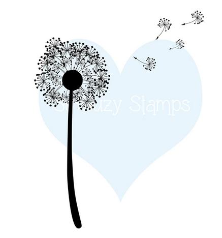 Crackerbox & Suzy Stamps - Dandelion & Fluff
