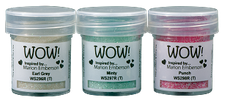 WOW! Embossing - Trio Pick Me Up