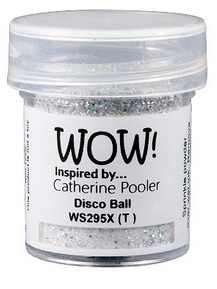 WOW! Embossing -  Disco Ball Catherine Pooler