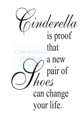 Crackerbox & Suzy Stamps - Cinderella Shoes