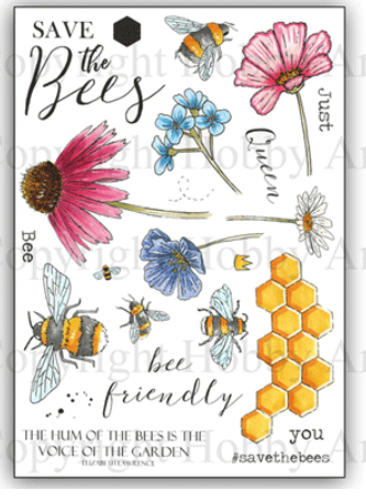 Hobby Art Stamps - Bee Friendly