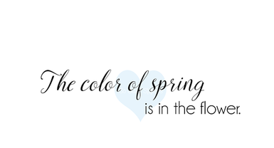 Crackerbox & Suzy Stamps - Color of Spring