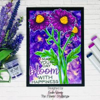 Flower Challenge Shades of Purple