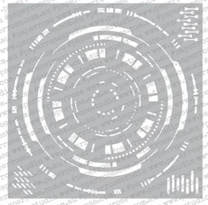 Paper Rose - Hub 6x6