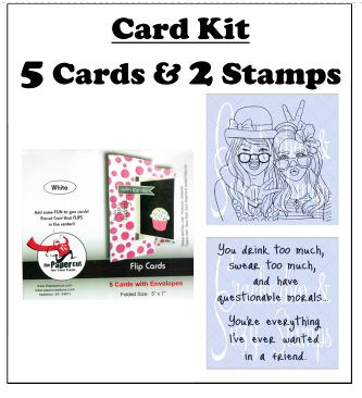 Crackerbox & Suzy Stamps - Card Kit 1