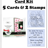 Crackerbox & Suzy Card Kits
