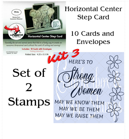 Crackerbox & Suzy Stamps - Card Kit 3