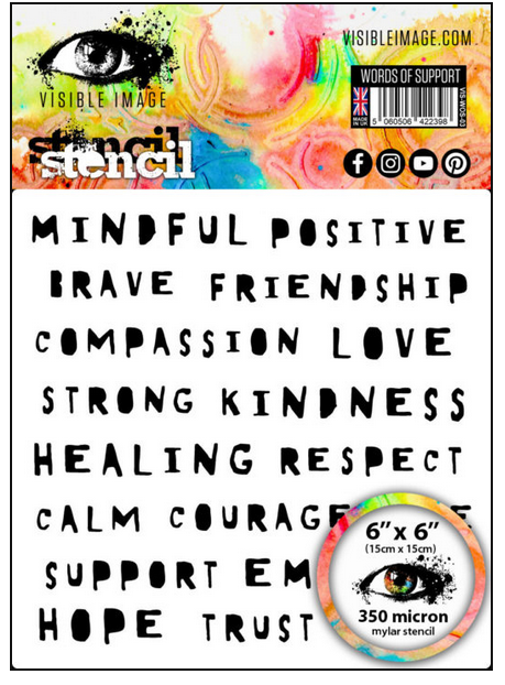 Visible Image - Words of Support