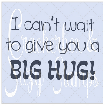 Crackerbox & Suzy Stamps - Big Hug