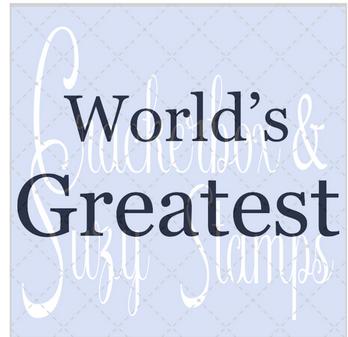 Crackerbox & Suzy Stamps - World's Greatest
