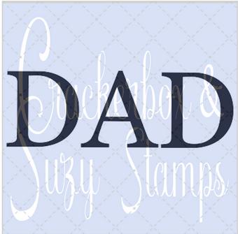 Crackwerbox & Suzy Stamps - Dad