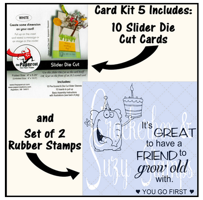 Crackerbox & Suzy Stamps - Card Kit 5
