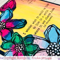 PaperArtsy Summertime Flowers