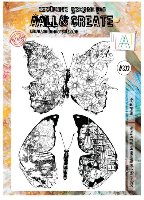 AALL & Create - #322 Floral Wings