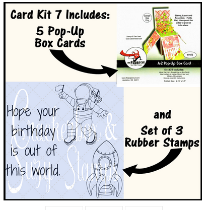 Crackerbox & Suzy Stamps - Card Kit #7