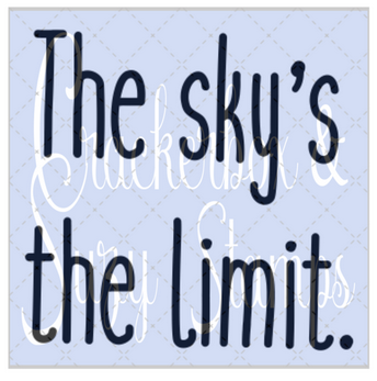 Crackerbox & Suzy Stamps - Sky's the Limit