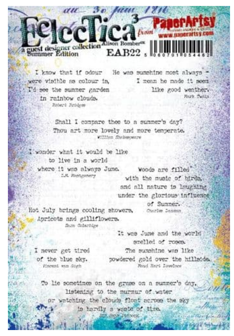 PaperArtsy - Alison Bomber 22 - Summer