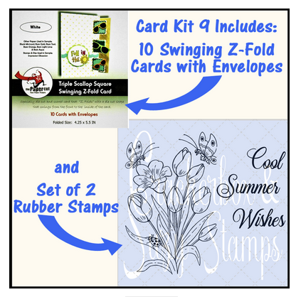 Crackerbox & Suzy Stamps - Card Kit 9