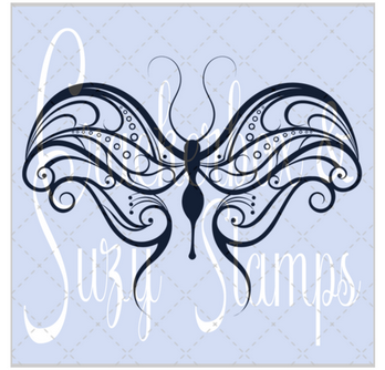 Crackerbox & Suzy Stamps - Butterfly 3