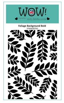 WOW! Embossing - Foilage Background Bold