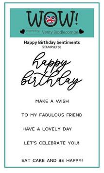 WOW! Embossing - Happy Birthday