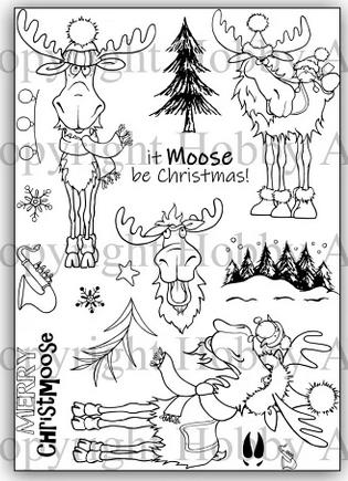 Hobby Art - It Moose Be Christmas
