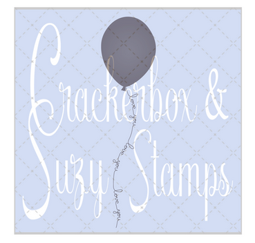 Crackerbox & Suzy Stamps - Love Balloons