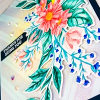 The Flower Challenge - Adding Spots or Stripes