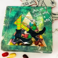 Crackerbox & Suzy Stamp Treats for a Witch