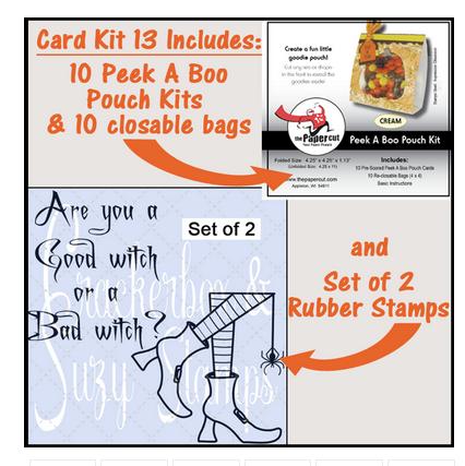 Crackerbox & Suzy Stamp - Card Kit 13