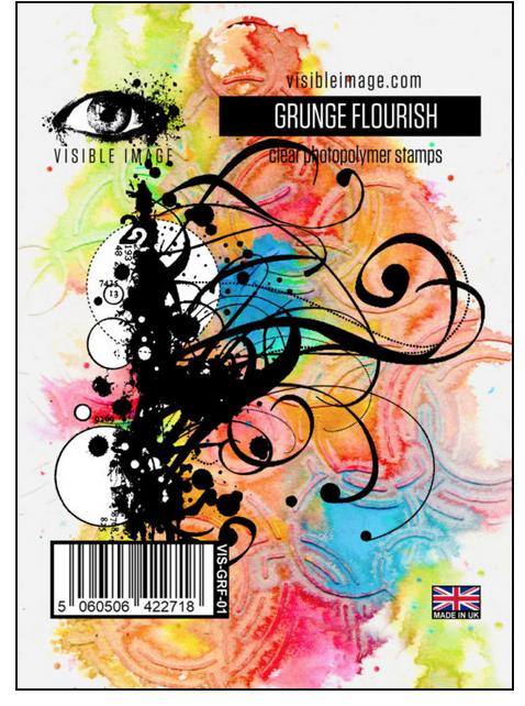 Visible Image - Grunge Flourish