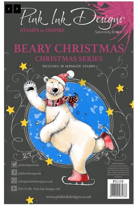 Pink Ink Designs - Beary Christmas
