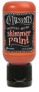 Ranger - Dylusions Shimmer Paint Tangerine
