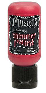 Ranger - Dylusions Shimmer Paint Postbox Red