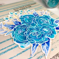 Flower Challenge #60 Color Turquoise