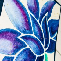 Tracy Scott PaperArtsy Stencil Flower