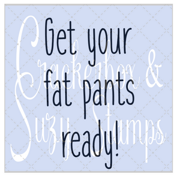 Crackerbox Stamps - Fat Pants